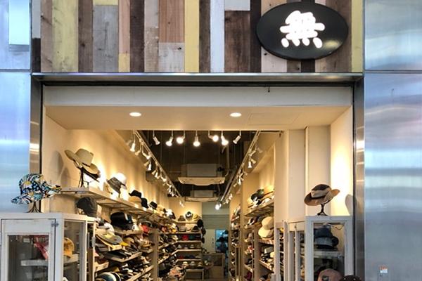 帽子屋「無」神戸三宮センター街店 帽子のセレクトショップ