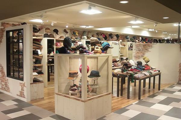 帽子屋「無」あべのハルカス店【阿倍野】 帽子のセレクトショップ