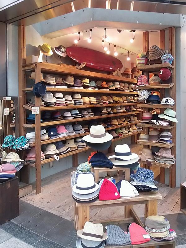帽子屋「無」戎橋店【心斎橋・難波】 帽子のセレクトショップ