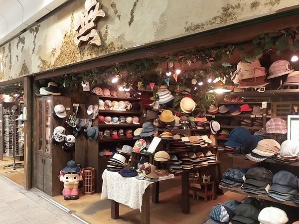 帽子屋「無」神戸ピアザ3店 帽子のセレクトショップ