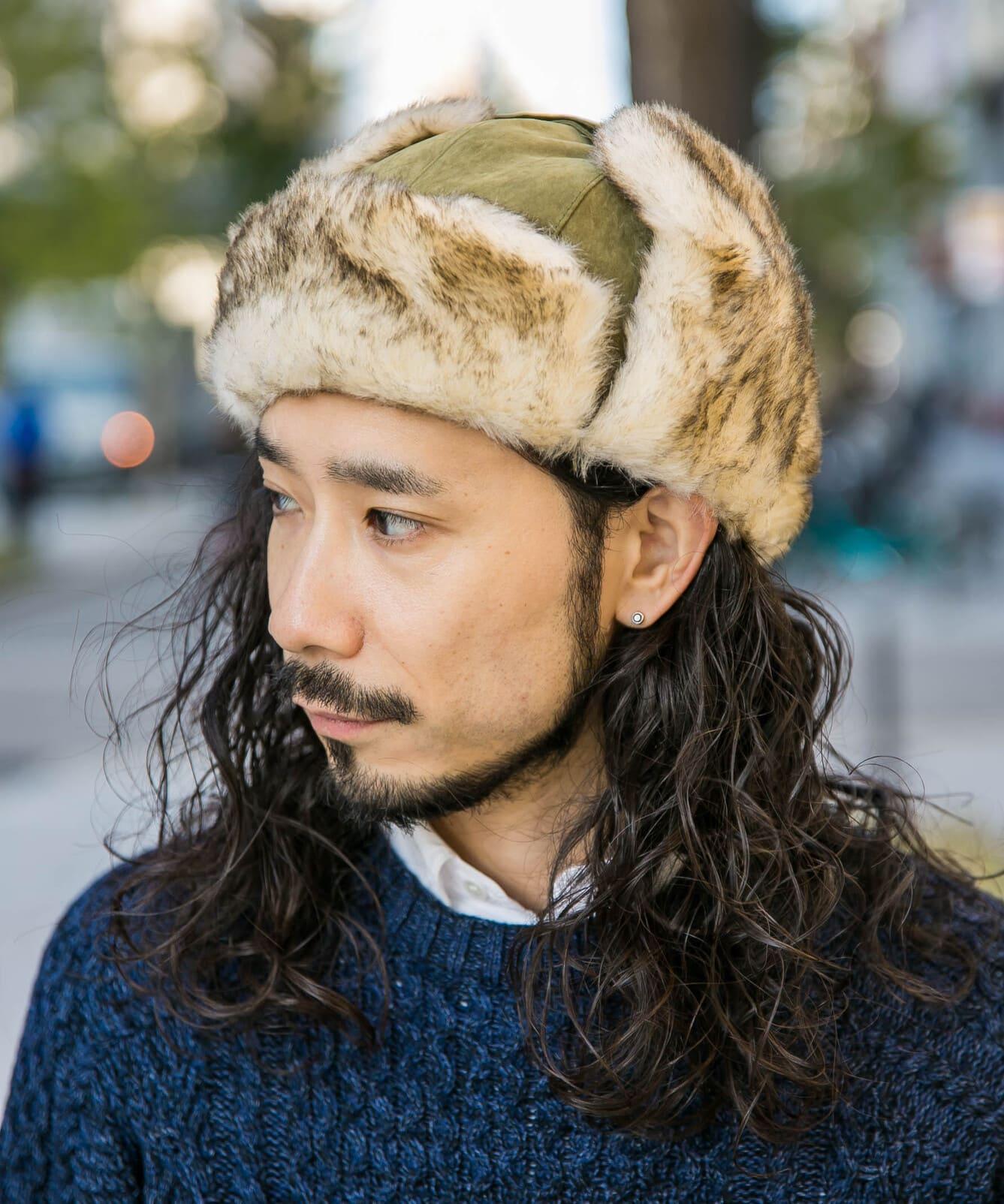 MIX FAR FIGHT CAP【ミックスファーフライトキャップ】