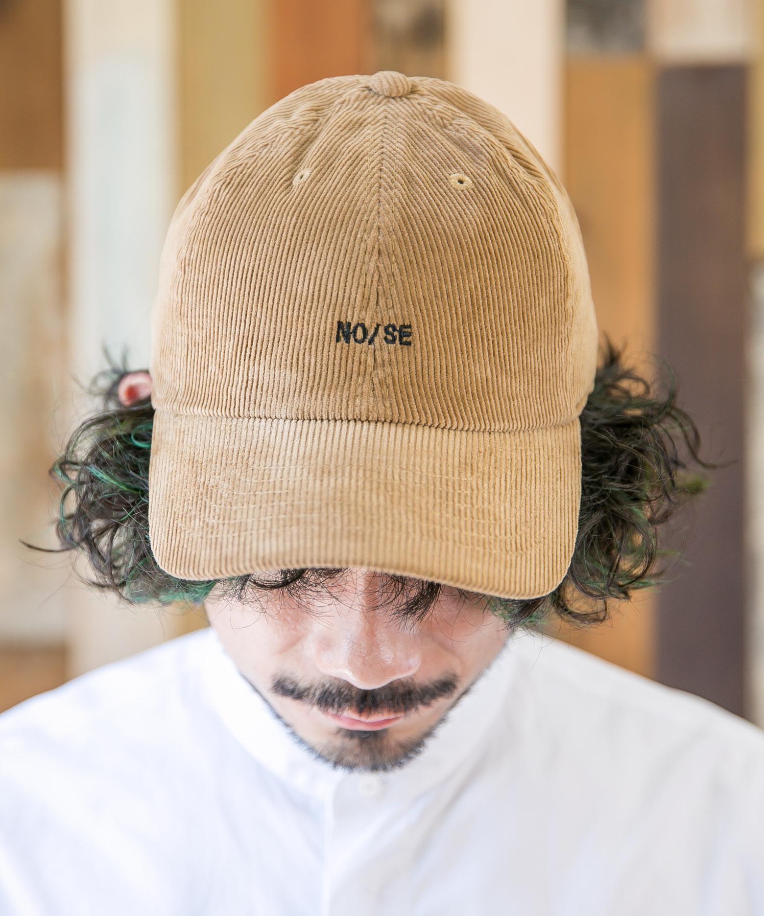 NOISE CORDUROY LOW CAP【ノイズコーデュロイローキャップ】